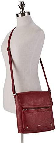 Relic through Fossil Women's Evie Flap Crossbody Handbag Purse