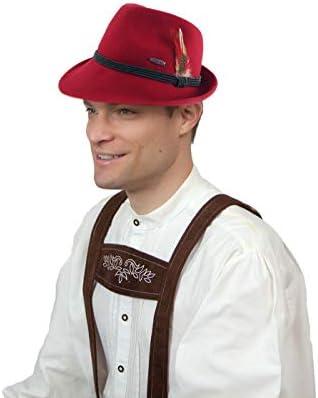 Amazon.com: Gorro de lana tirolesa alpina de estilo ...