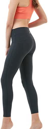 Tesla Women's Yoga Pants High-Waist Tummy Control w Hidden Pocket FYP42