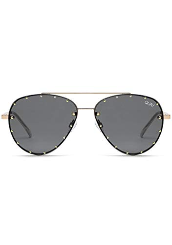 Used, Quay Women's Roxanne Sunglasses, Smoke/Gold, One Size for sale  Delivered anywhere in USA