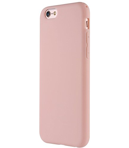 Manleno iphone 6 Case Soft TPU Matte Cover Case for iphone 6s 6 4.7 inch (Light - Pink Matte