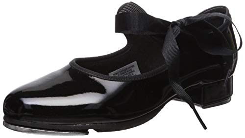 nnie Tyette Tap Shoe,patent,6 Wide US Toddler ()
