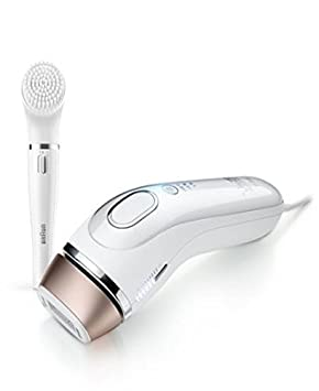Gillette Venus Silk-expert IPL Intense Pulsed Light , powered by Braun – BD 5008 facial cleansing brush