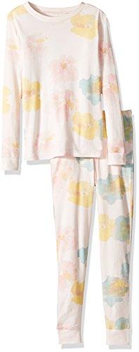 Burt's Bees Baby Unisex Baby Little Kids Pajamas, 2-Piece PJ Set, 100% Organic Cotton (12 Mo-7 Yrs), Dawn Morning Dew, 6 Years for $<!--$16.95-->