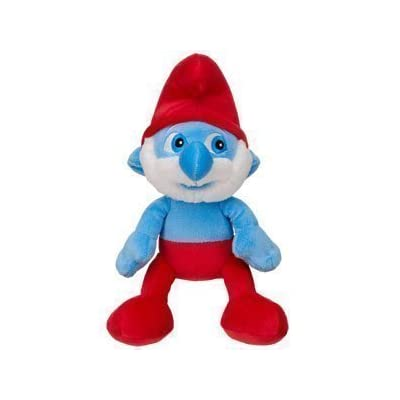 Build a Bear Plush Stuffed Papa Smurf- Measures 10 Inches: Office Products