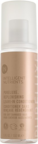 Intelligent Nutrients PureLuxe Replenishing Leave-in Conditioner - Moisturizing Leave-in Treatment for Dry & Damaged Hair (5 oz)