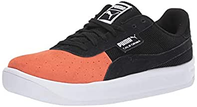 PUMA Mens California Orange Size: 6