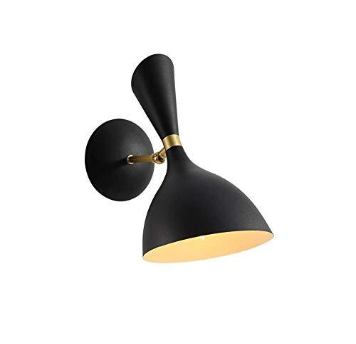 XAJGW Lámpara de Pared Moderna Junto a la Cama, iluminación de Interior Simple Blanca Lámpara de Pared para Colgar con...