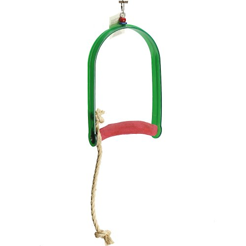 Polly's Sand Walk Arch Bird Swing, X-Large by Polly's