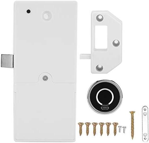 Taidda- Schrankschloss,Fingerabdruckschloss Fingerprint Electric Lock, G15 Fingerprint Electric Lock für Schubladenschuhschrank Office Home Bank Batterie ausschließen
