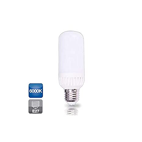 Bombilla de led corn light 7W E27 luz fría 6000K 600 lm GSC 2002393: Amazon.es: Iluminación