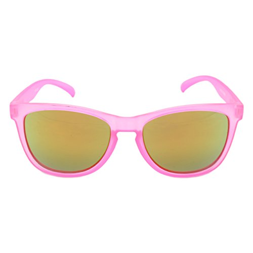 Hang Ten Kids Uv400 Sunglasses, Pink With Pink - Logo Polarized