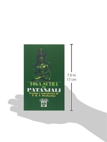 Yoga sutra de patanjali: T.S.K. Desikachar: 9788476407912 ...