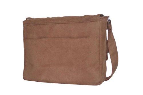 Wallaboo - Bolso de pañales, color marrón