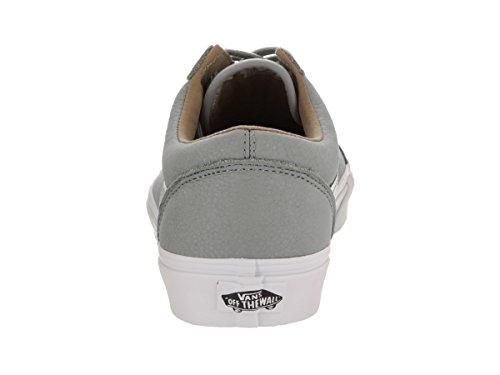 VansUa Old Skool - Zapatillas hombre (premium Leather) Wild Dove/true White