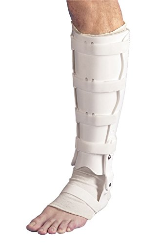 AliMed Tibial Fracture Orthosis (Standard) (TFO) w/Shoe Insert, Right, Medium by AliMed