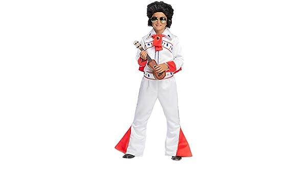 VENEZIANO Disfraz Elvis Vestido Fiesta de Carnaval Fancy Dress ...