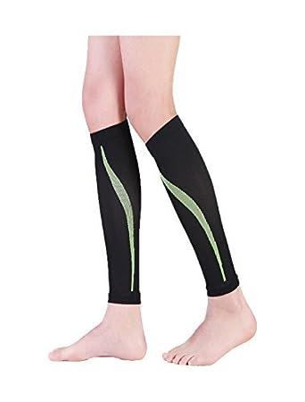 eDealMax Unisex sin Base de la novedad Imprime calcetines de compresión 1 Pack Un tamaño Negro