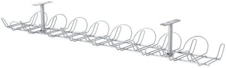 Ikea 5054186060445 Signum Range Câbles Couleur Argent Acier Inoxydable Silver 76 X 16 X 5 Cm