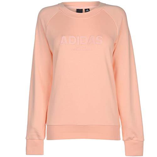 S17 All Adidas Coral Rosa S17 Sweatshirt Haze Essentials Femme haze Caps 8qt8wrP