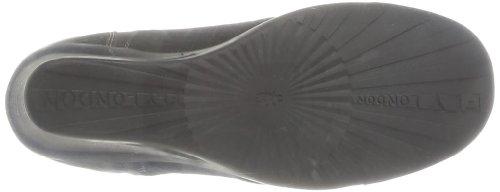 Black Beige Sludge Fly stringate London Jiva Scarpe Beige Purple Donna RR8TqA