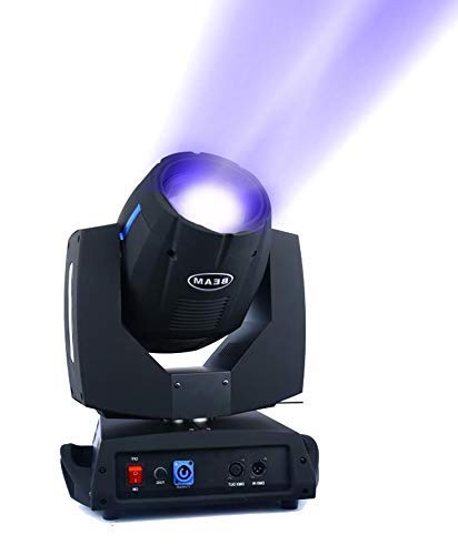 AHLIGHTS 7R 230W Beam Moving Head, DMX512 16 Channel Stage light for Wedding Christmas Birthday DJ Disco Party