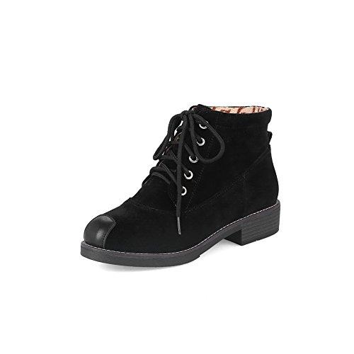 1TO9 Mns02486, Sandales Compensées femme Noir