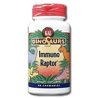 Kal Dinosaurs ImmunoRaptor Orange -- 60 Chewables