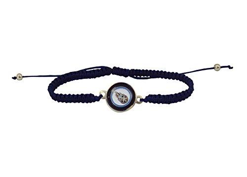NFL Tennessee Titans Braided Logo Bracelet