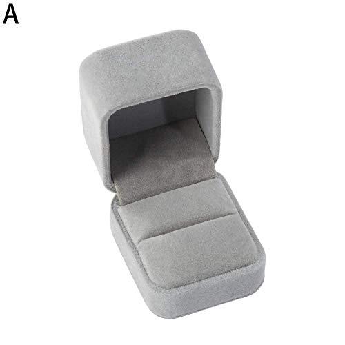 liyhh - Caja de Regalo de Terciopelo sintético para joyería, Collar, Pulsera, Caja expositora, a