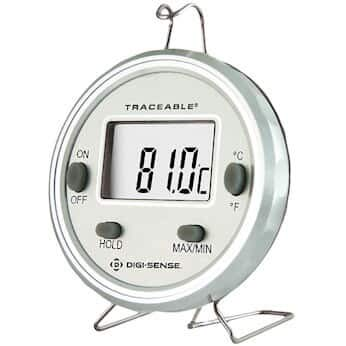 Digi-Sense Traceable Dishwasher Metal Thermometer with Calibration
