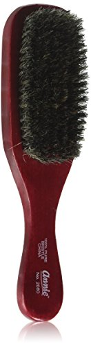 ANNIE Wave Soft Brush (Model:2080), Natural wood, boar bristles, wooden brush, won't pull on your hair, detangler, pulls out the knots (Bristles Hair Soft Brushes)