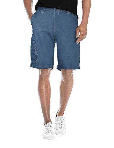 Agile Men's Slim Fit Hemmed Short ASH45185 Medium was - Stretch Waist Low Cotton