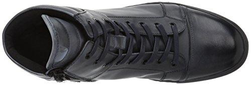 Kenneth Cole New York Mens Dubbel Header Sneaker Navy