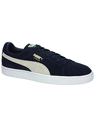 Bianco Suede Classic Classic Suede nero TSxWTzn4r
