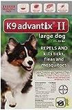 K9 Advantix II 6-Month Dogs 21-55 Lbs (Red)