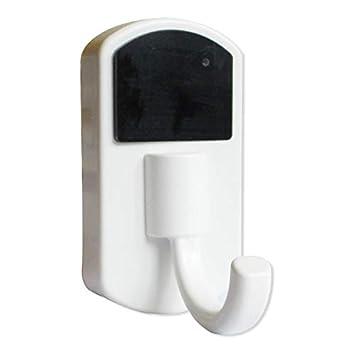 Escudo cámara espía gancho, blanco: Amazon.es: Electrónica
