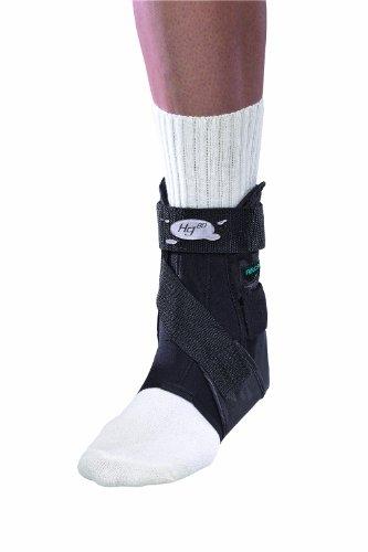 Mueller Hg80 Ankle Brace - Mueller Hg80 Rigid Ankle Brace, Small, Black, 1-Count Box