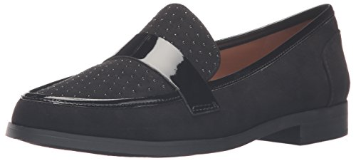 Franco Sarto Women's L-valera2 Flat, Black, 8 M US (Franco Sarto Patent Leather Shoes)