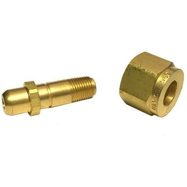 Western Enterprises#603 PKGD:Inlet Nipple CGA-660