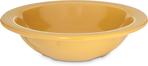 Carlisle 4352922 Dallas Ware Melamine Grapefruit Bowl, 10oz Capacity, 5.95