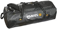 Extremely rugged bag in special 1100 Denier nylon with a shiny double black coating, able to hold up to 100 kg. Dry bag manufactured without any stitching. Tear-resistant handles are attached by snap hooks to four welded base plates. Side pur...