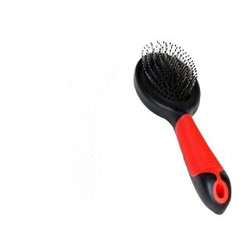 Karlie Professional Stiftbürste 20.5 x 6 x 4.5 cm S, rot-schwarz
