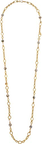 Chan Luu Women's Labradorite Chain Long Necklace Labradorite One ()