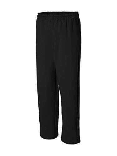 Gildan Mens 8 oz. Heavy Blend 50/50 Sweatpants G184 -BLACK L