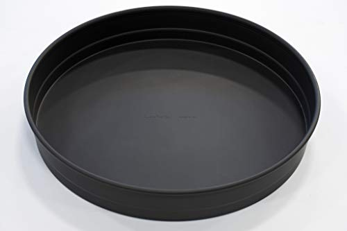 LloydPans 14x2.25 inch, Deep Dish Pizza Pan. Pre-Seasoned PSTK, Self-Stacking Pan