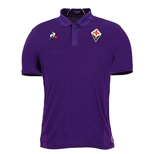 Le Coq Sportif 2018-2019 Fiorentina Home Football Soccer T-Shirt Jersey