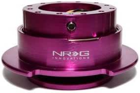 Purple Gen 3 NRG Steering Wheel Quick Release Kit Part # SRK-650PP