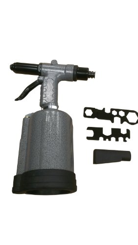 "SX1819T Sunex 3/16"" & ¼"" Heavy Duty Rivet Gun, 3960 lbF, 90PSI by Sunex Tools (Image #1)"