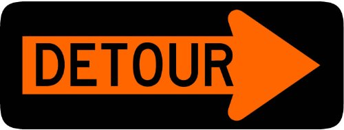 street-traffic-sign-wall-decals-detour-right-arrow-sign-12-inch-removable-graphic